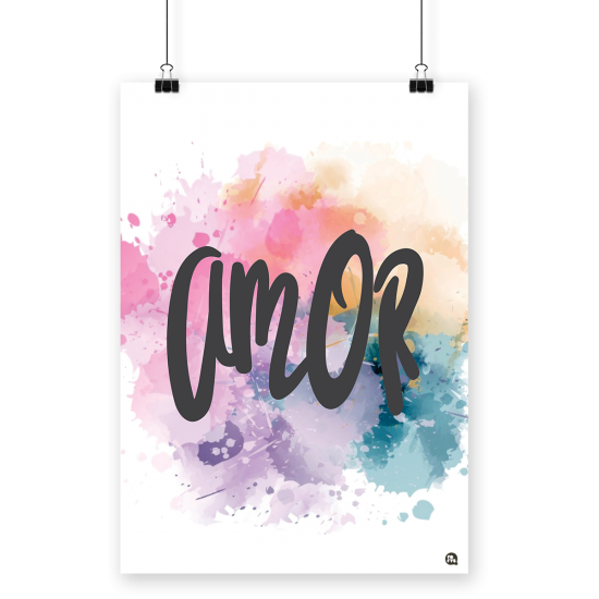 Poster A4 Amor