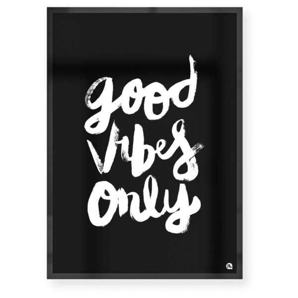 Quadro decorativo good vibes - Fofys