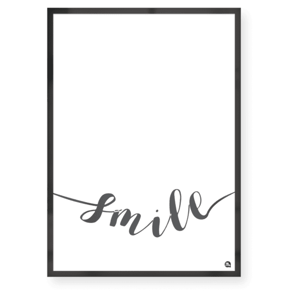 Quadro decorativo Smile - Fofys